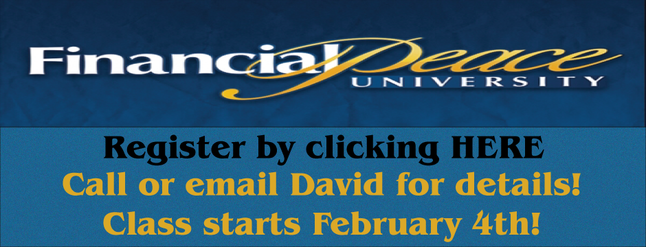 Financial Peace University Sign Up