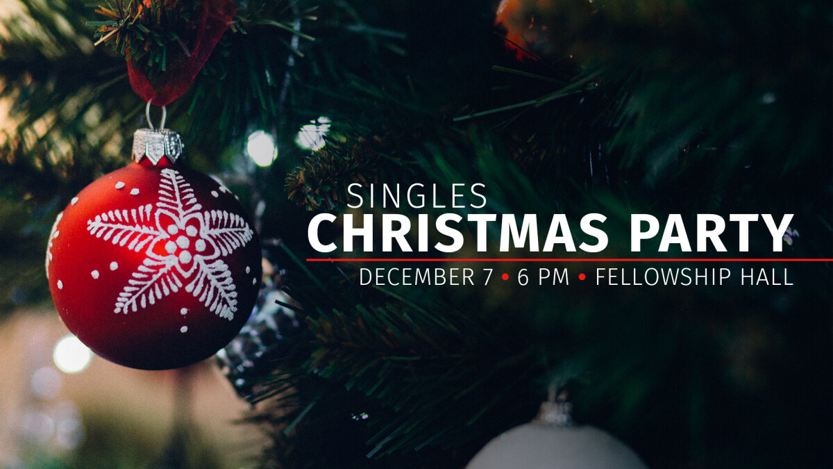 Singles Christmas Party