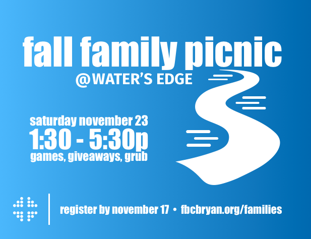 Fall Family Picnic